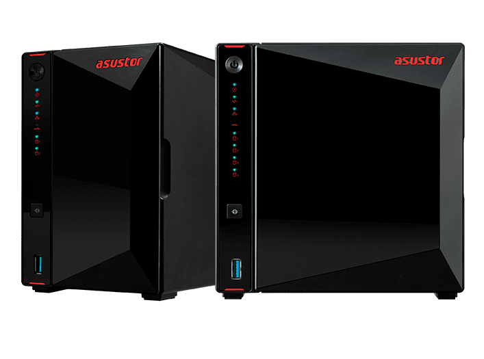 Asustor 華芸 NAS Asustor_banner Gaming-Inspired Storage