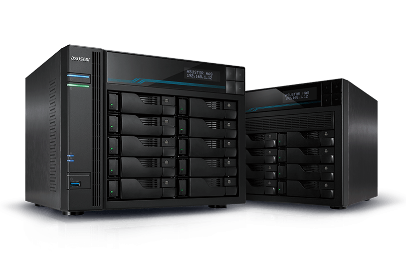 Asustor 華芸 NAS Asustor_banner Shift into overdrive with dual Intel 10GbE, M.2 SSD Cache and 2.5GbE!